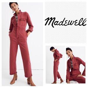 Madewell Denim Slim Coverall Jumpsuit.  NWT.